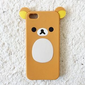 Accessories - Bear Silicone Iphone SE case